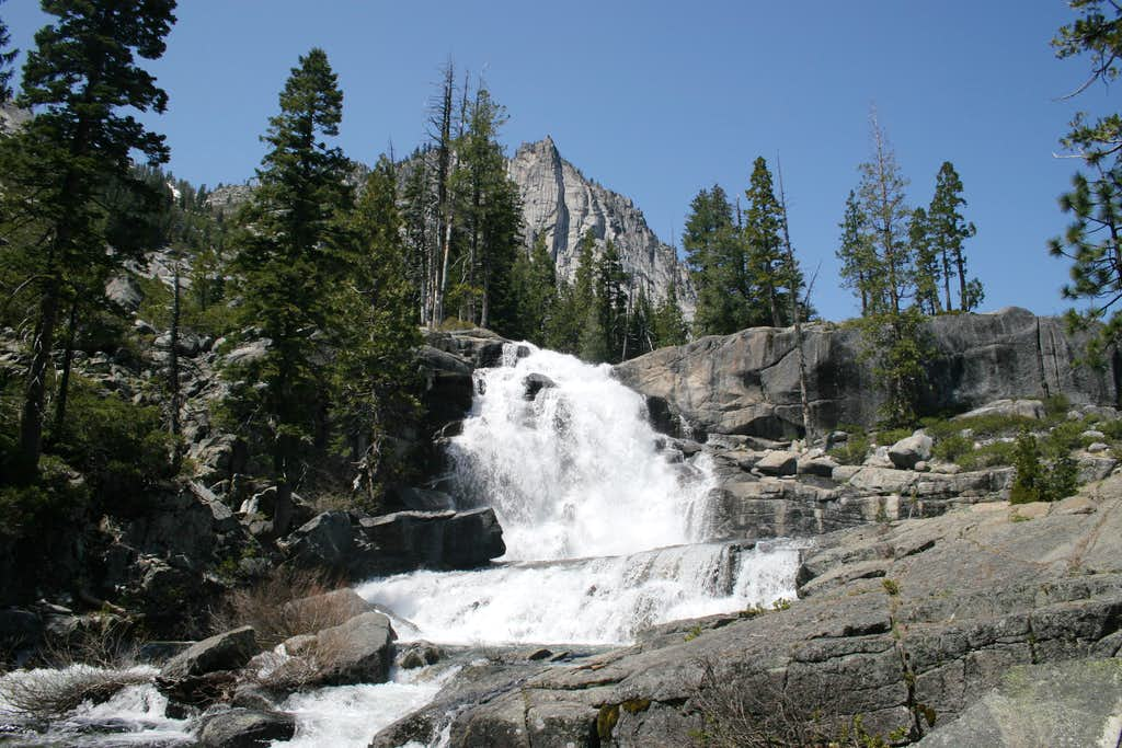 Upper Canyon Creek Falls