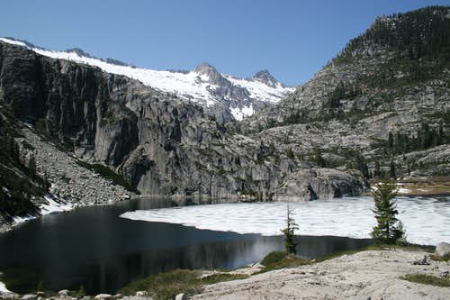 Upper Canyon Creek Lake