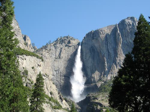Upper Yosemite Falls & Lost Arrow Spire