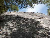Looking Up Knob Hill (5.7- 5.10a)
