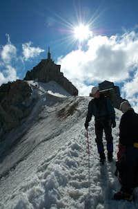 Aiguille du Midi behind