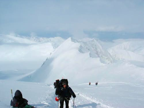 The Route to 14,000 Feet on Denali