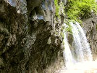 Waterfall on Békás-patak (Froggy-river)