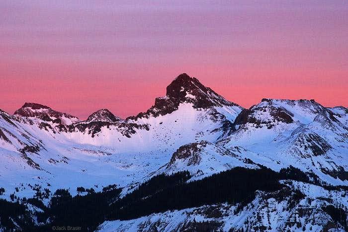 Wetterhorn Sunset