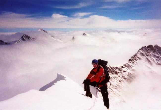 Dietmar on Monch summit...