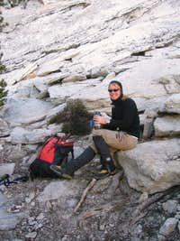 After climbing Cathedral's SE Buttress