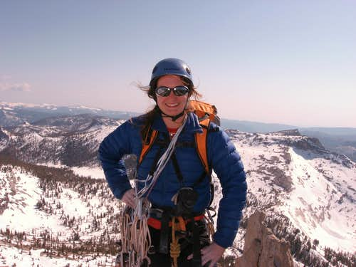 Me on the summit of Cathedral