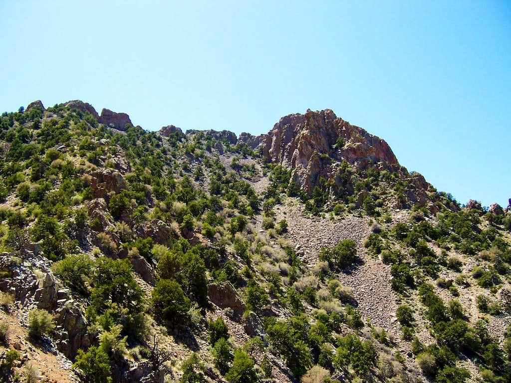On the North Ridge