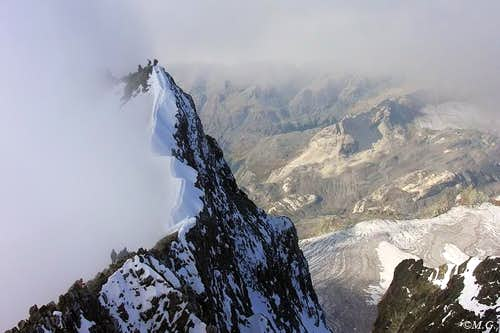 Bernina ridge