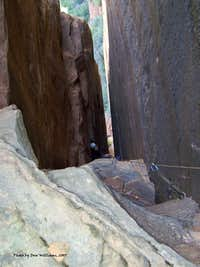 Weeping Rock Chimney, 5.7, 2 Pitches