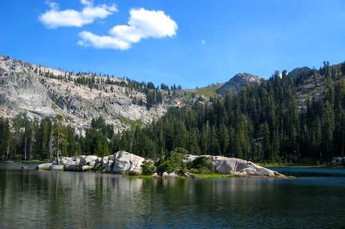 Bull Run Lake, a fine camping...