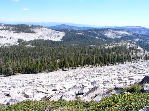 Rocky South/Southeast slope...