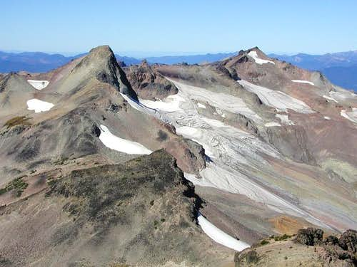 Ives Peak and Old Snowy from...