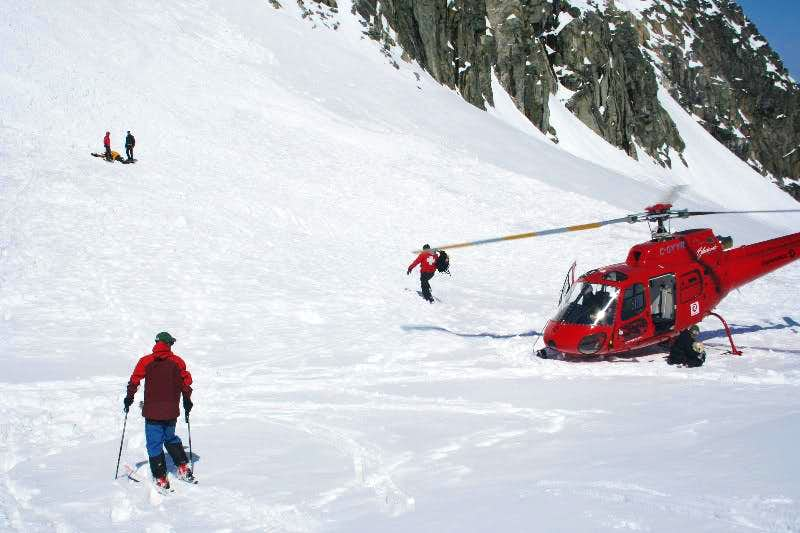 After the avalanche