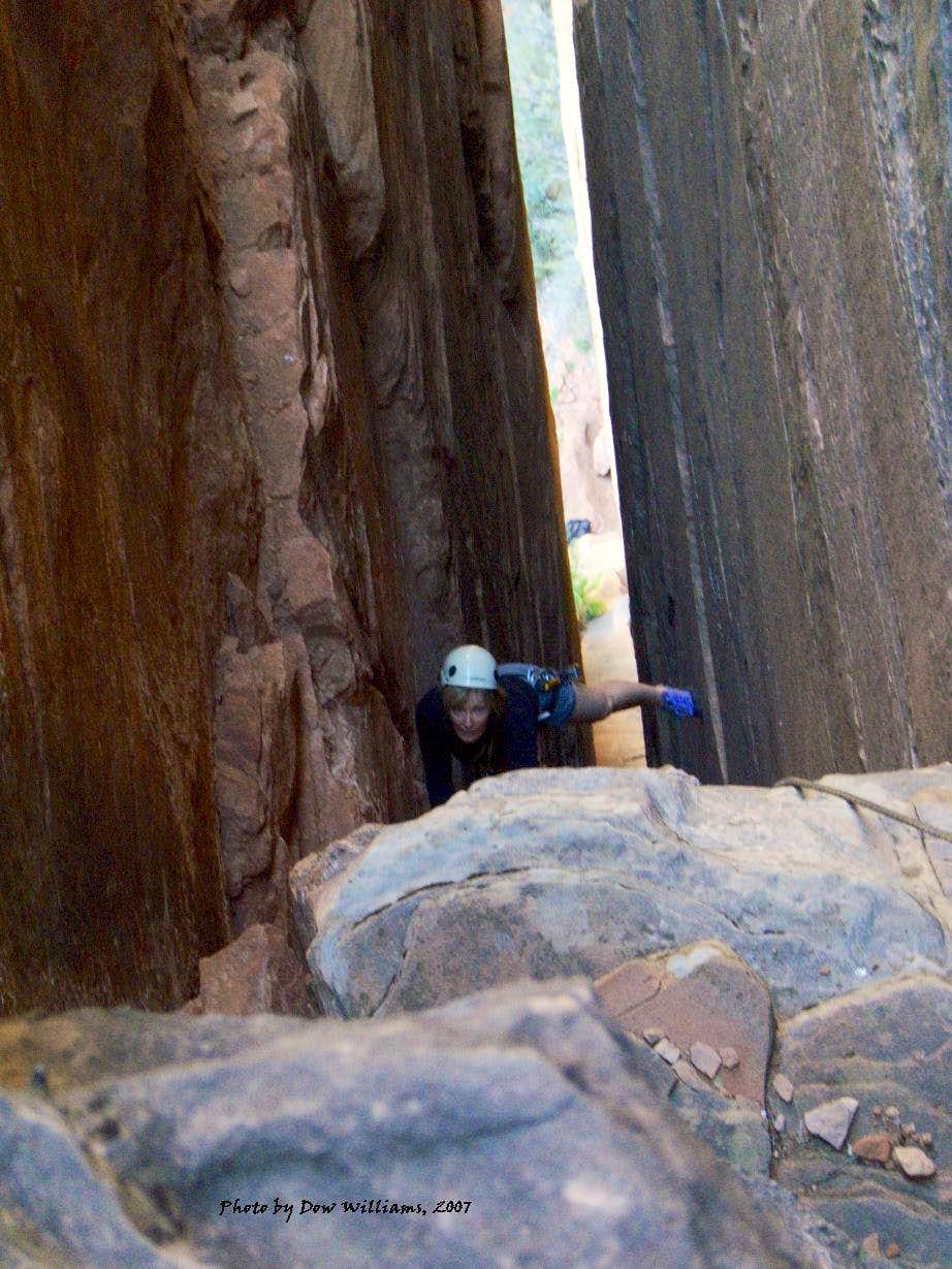 Weeping Rock Chimney, 5.7