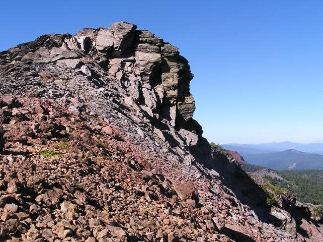 Summit of the east peak.