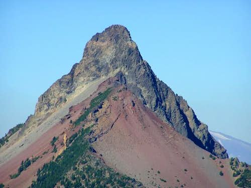 Summit pinnacle from the south.