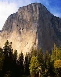 El Cap the start of fall