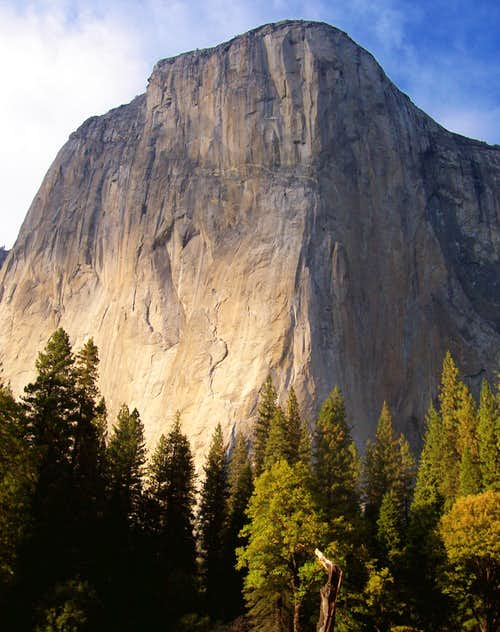 El Cap the start of fall