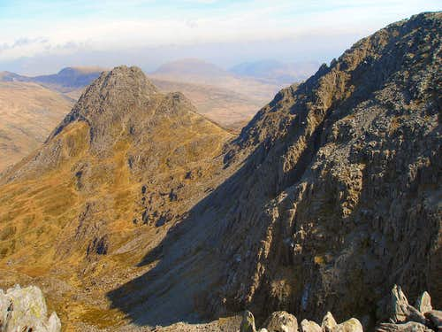 Tryfan and Glyder Fach