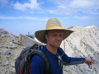 Last Ridge Near Summit Of Mt. San Gorgonio