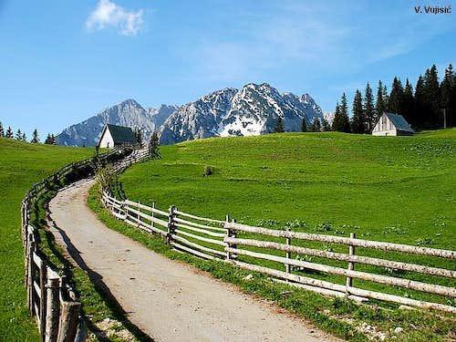 Bosaca village