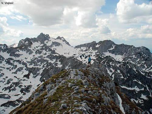 On Terzin Bogaz summit