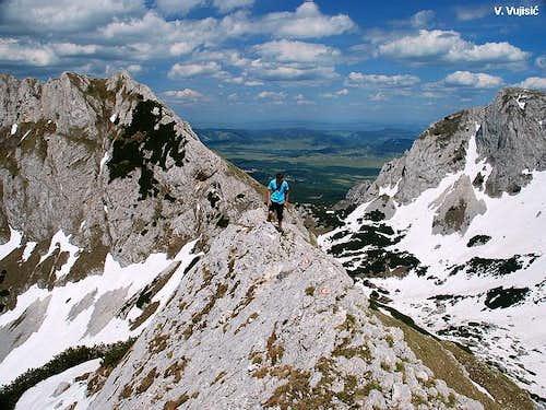 Terzin Bogaz ridge