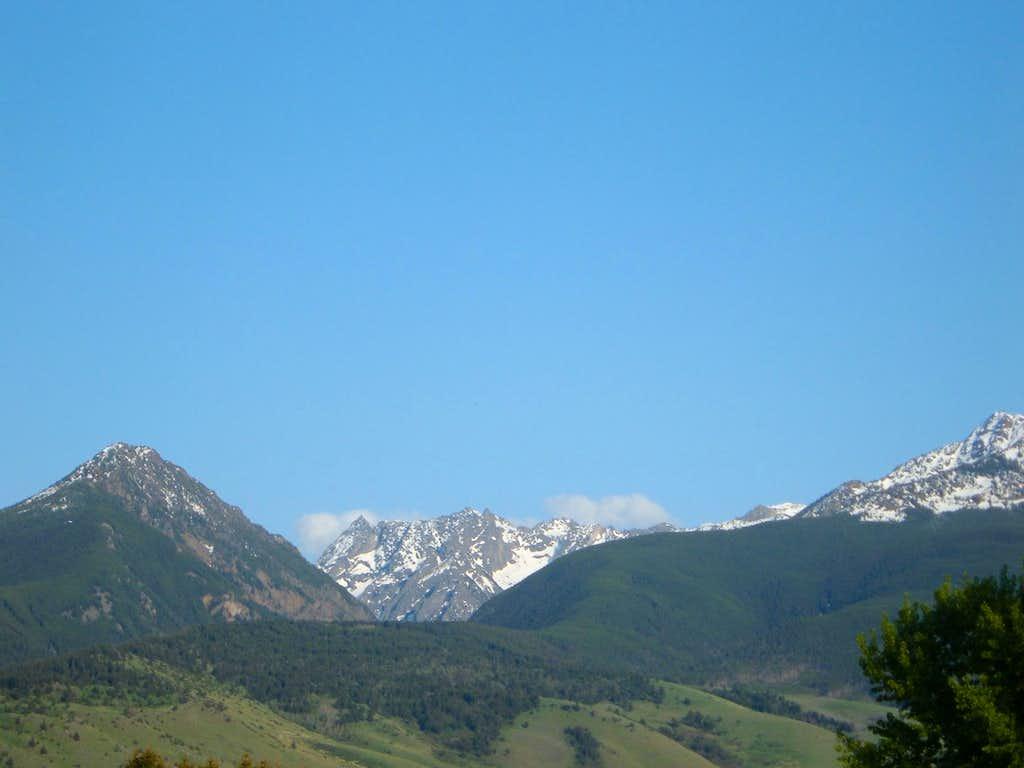 Mount Cowen from 89