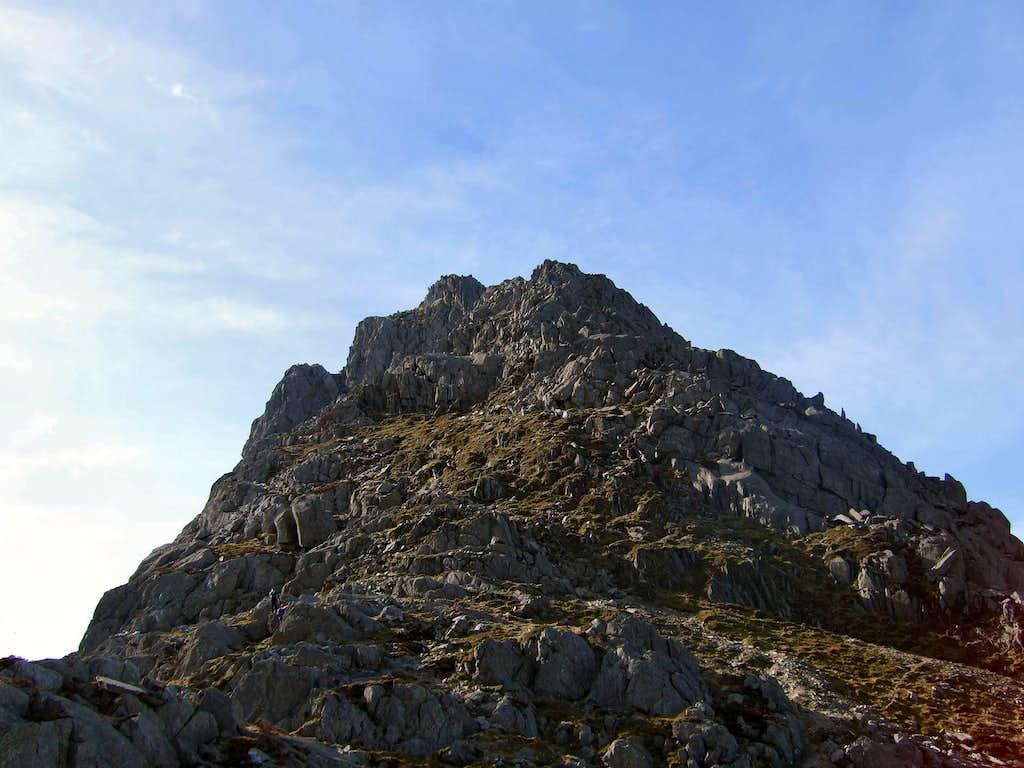 Tryfans North Ridge