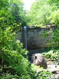 Second Waterfall on the East Canyon Trail