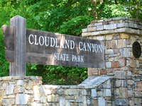 CCC Signpost for Cloudland Canyon State Park