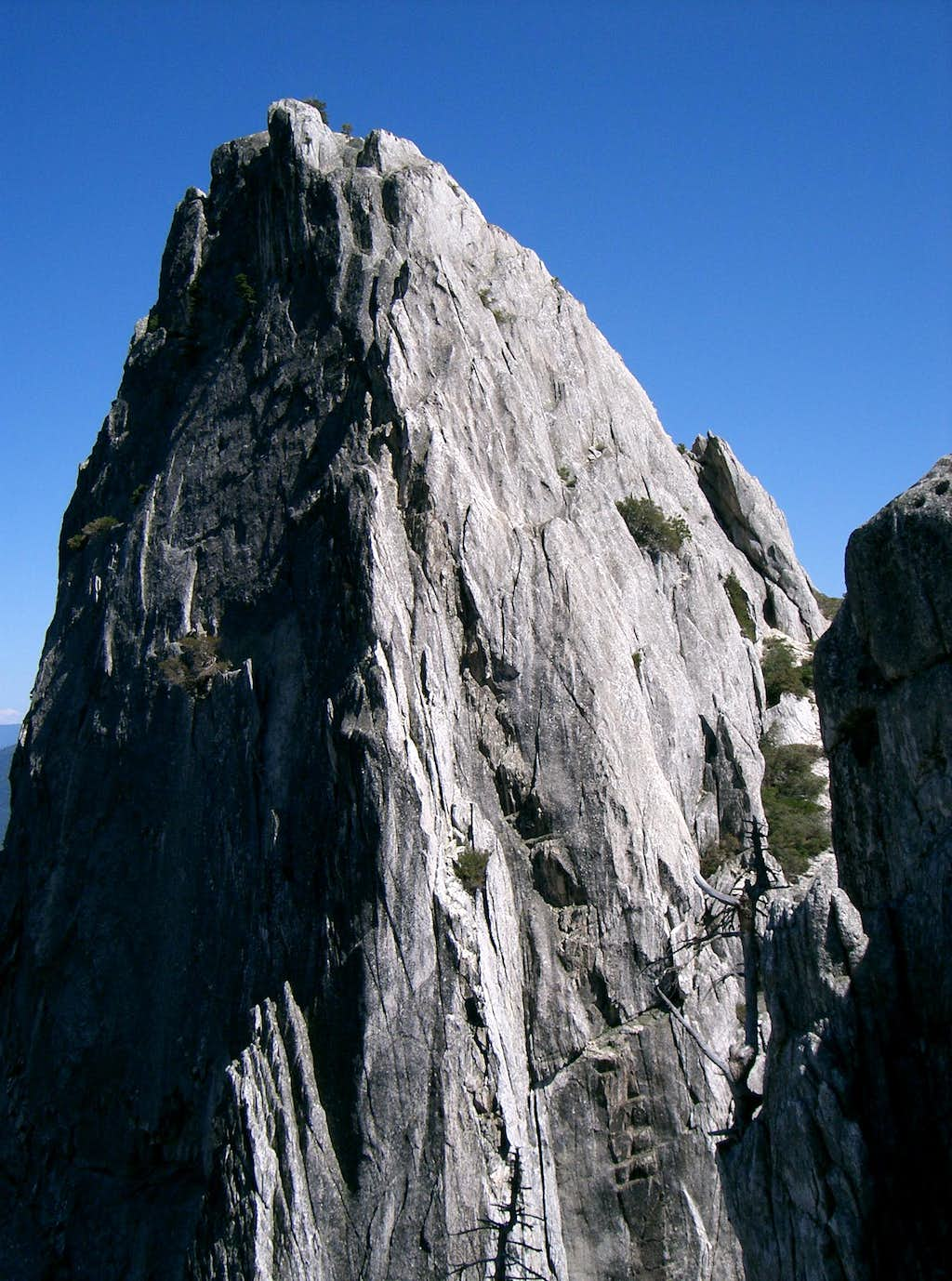 Striking North Face of Castle Dome