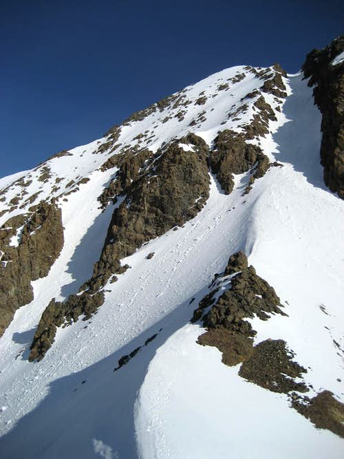 Sneffels summit couloir