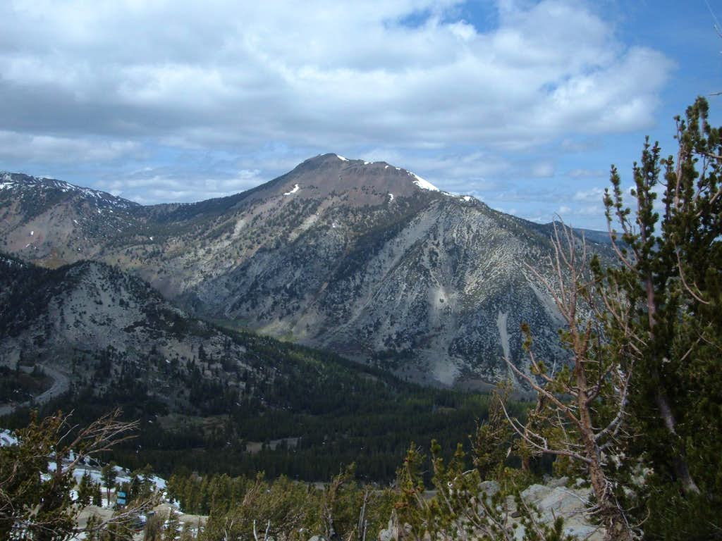 Mount Rose from near the summit of Slide Mountain