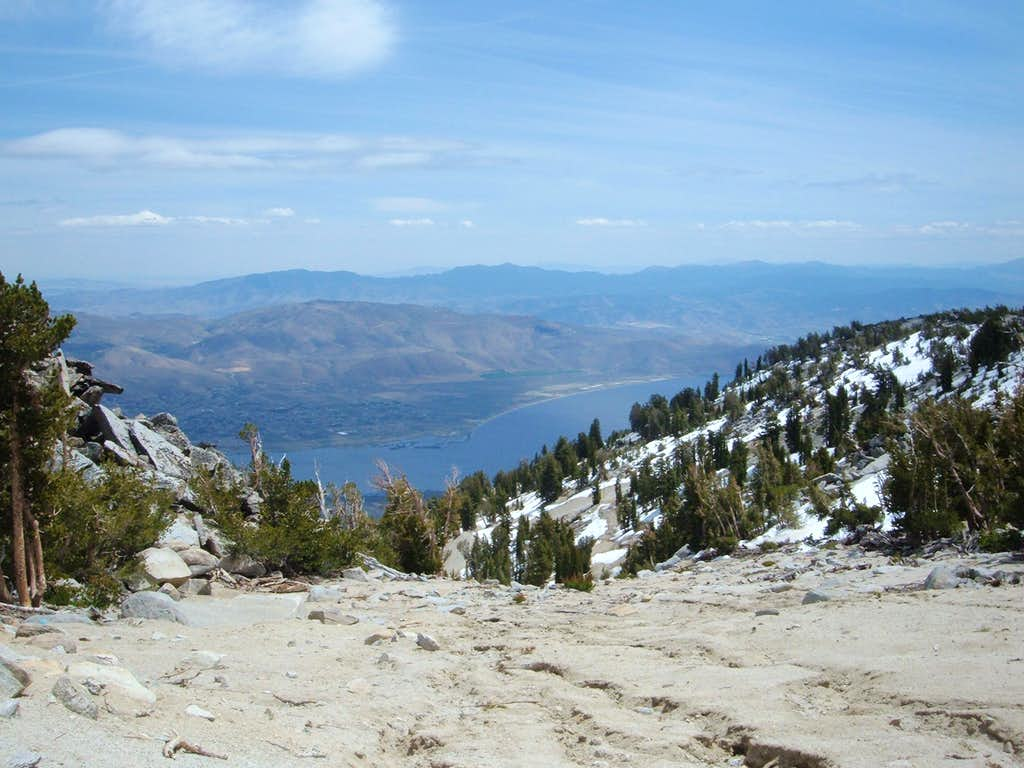 Washoe Lake and the Southern Virginia Range