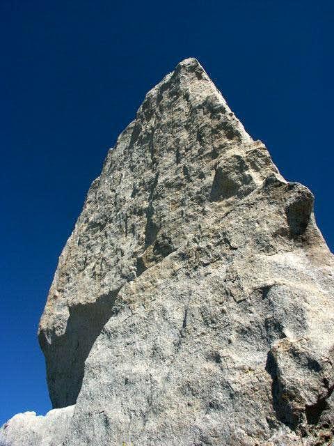 Imposing summit block of...