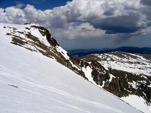 East ridge of Bancroft