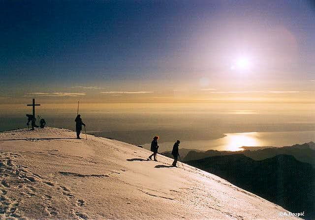On the Holy summit