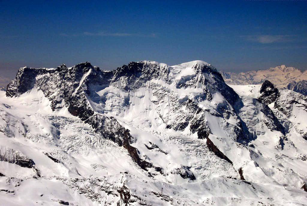 Breithorn seen from Alphubel.