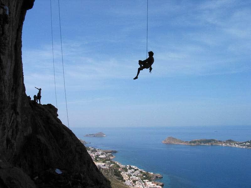 Outlook from Grande Grotta to Masouri