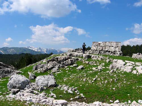 View to Prekornica