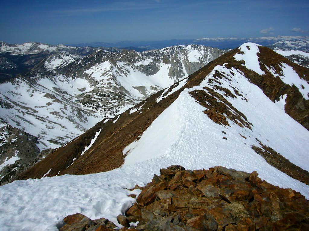 Knifeblade Summit Ridge