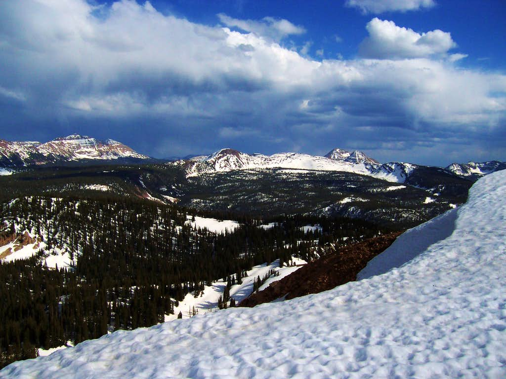 View Southeast From Moffit Peak