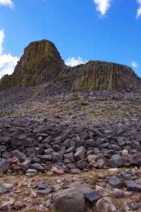 The NE side of Bull Run Peak.