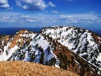 Loafer Mountain from Santaquin