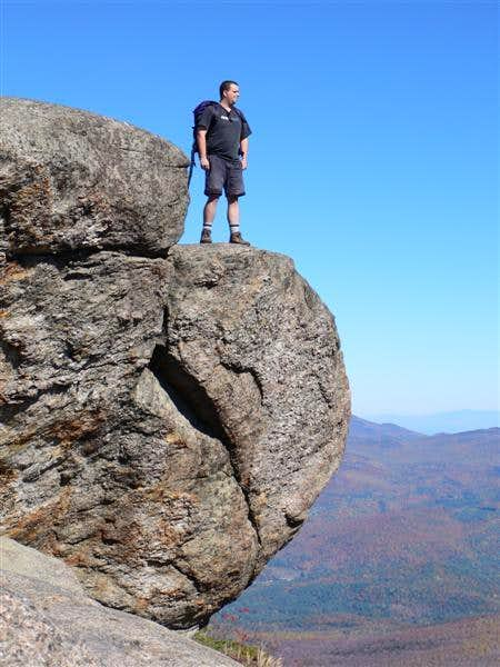 Me on the summit of Cascade Mt.