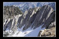 Big Willow Cirque east wall