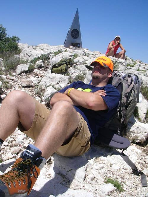 Guadalupe Peak Summit Napping