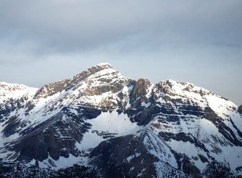 Mt. Borah S.E side